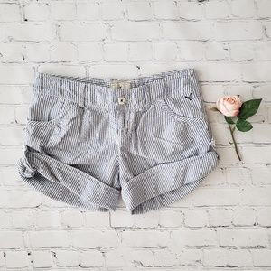 American Eagle Seersucker Shorts